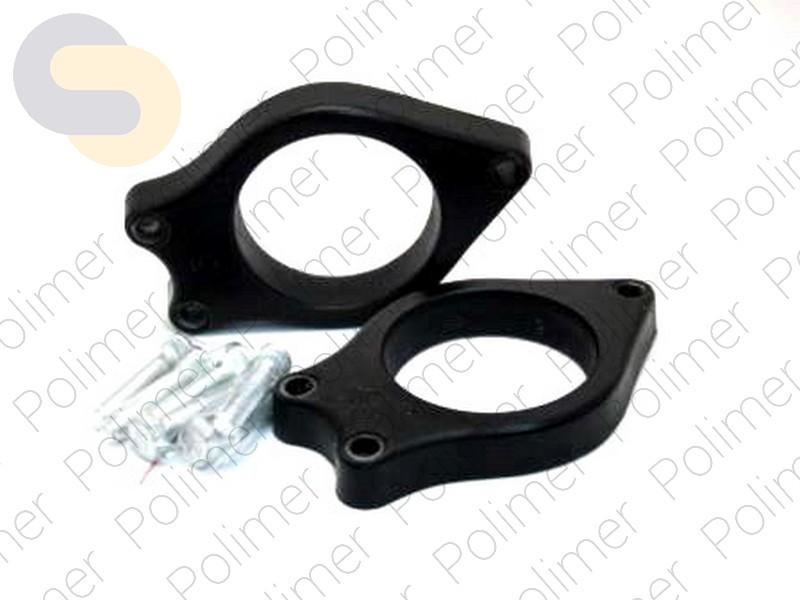 Проставки увеличения клиренса задних стоек BYD - полиуретан 20 мм
