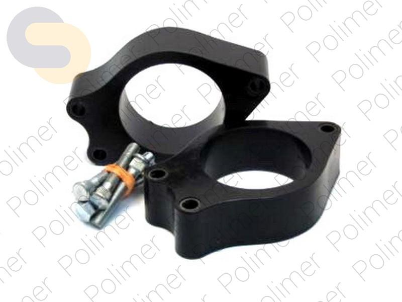 Проставки увеличения клиренса задних стоек GEELY - полиуретан 40 мм