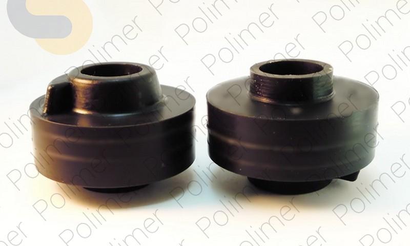 Проставки увеличения клиренса задних пружин PORSCHE нижние - полиуретан + 20 мм