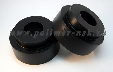 Проставки увеличения клиренса задних пружин ACURA - полиуретан + 40 мм