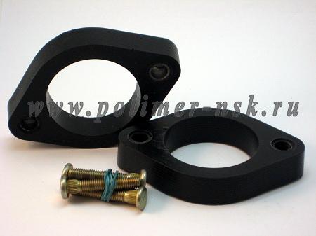 Проставки опор задних амортизаторов ACURA - полиуретан 20 мм