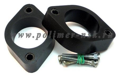 Проставки опор задних амортизаторов ACURA - полиуретан 30 мм