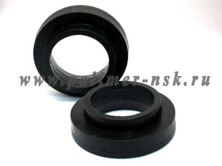Проставки увеличения клиренса задних пружин VORTEX - полиуретан 30 мм