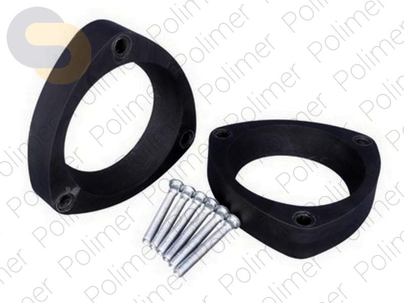Проставки увеличения клиренса передних стоек VORTEX - полиуретан 20 мм