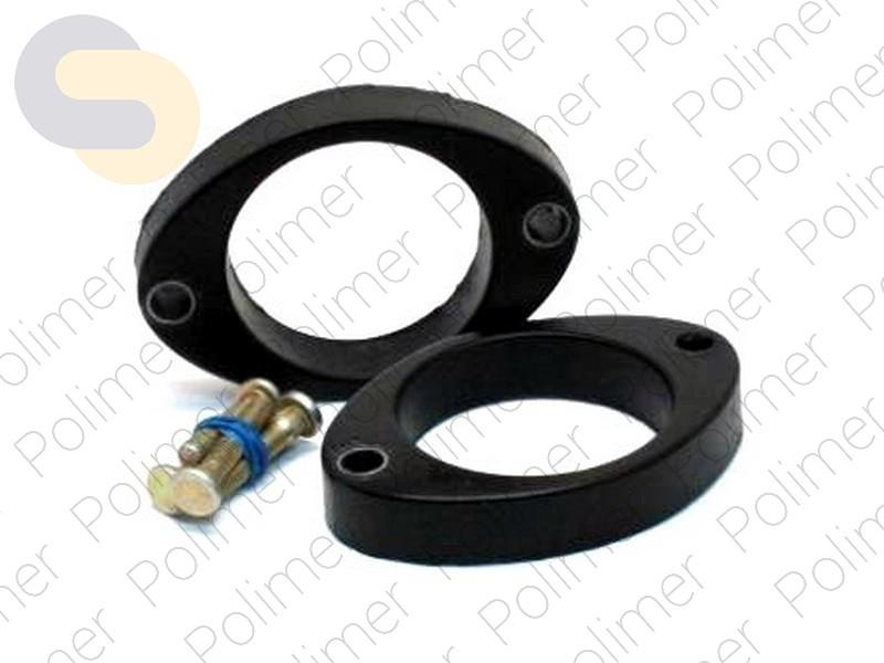 Проставки увеличения клиренса задних стоек VORTEX - полиуретан 20 мм