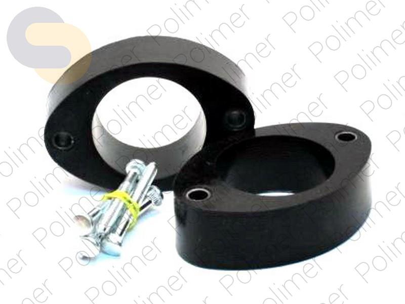 Проставки увеличения клиренса задних стоек VORTEX - полиуретан 40 мм