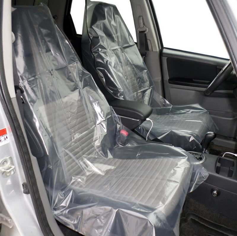 Комплект защитных накидок на сиденья