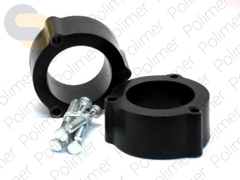 Проставки увеличения клиренса передних стоек TOYOTA - полиуретан 50 мм