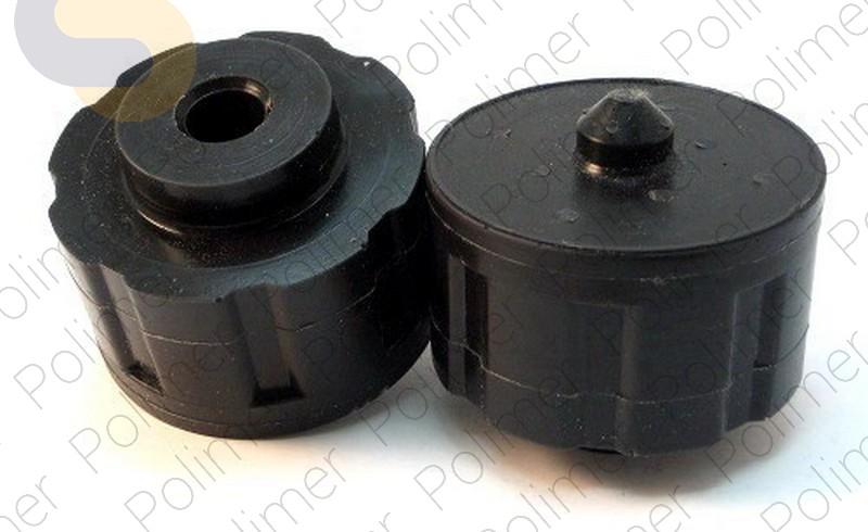 Проставки увеличения клиренса задних пружин AUDI - полиуретан + 30 мм