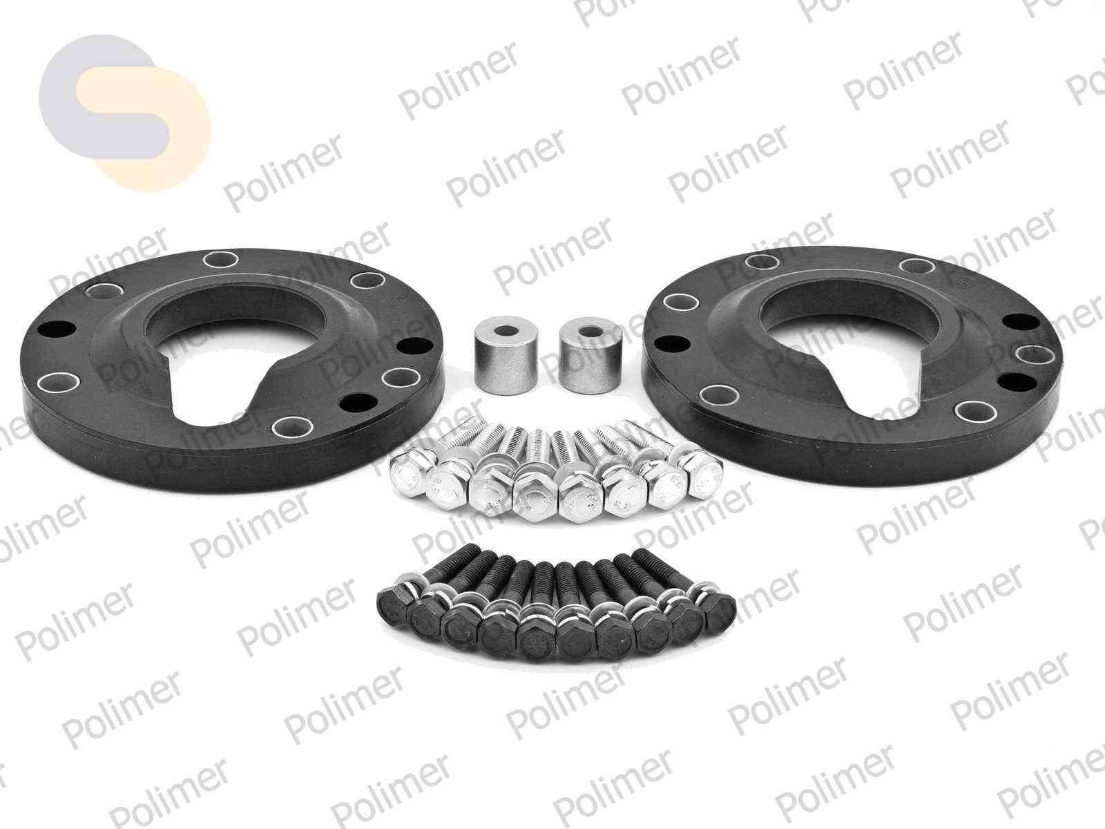Проставки увеличения клиренса передних стоек BMW - полиуретан 20 мм