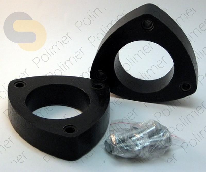Проставки увеличения клиренса передних стоек FORD - полиуретан 30 мм