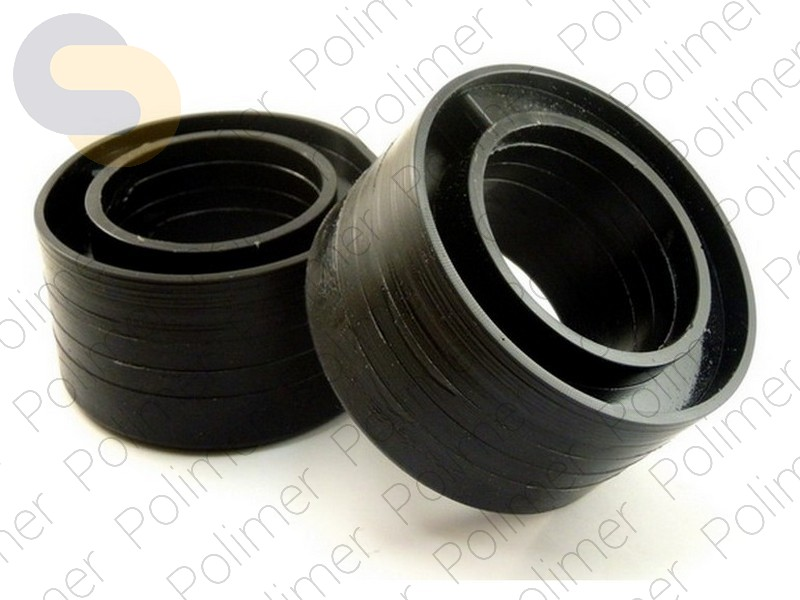 Проставки увеличения клиренса задних пружин FORD - полиуретан + 40 мм