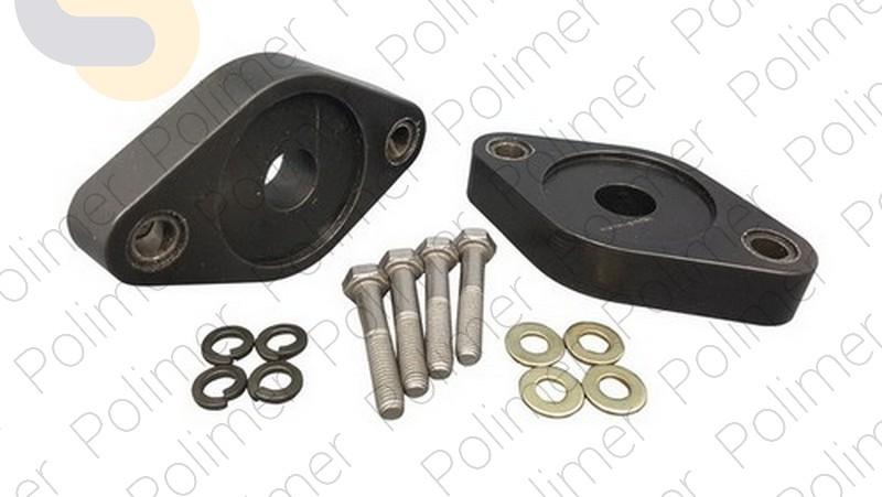 Проставки увеличения клиренса опор задних амортизаторов 20 мм FORD