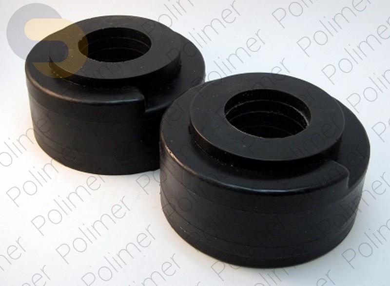 Проставки увеличения клиренса задних пружин увеличенные на 50 мм KIA