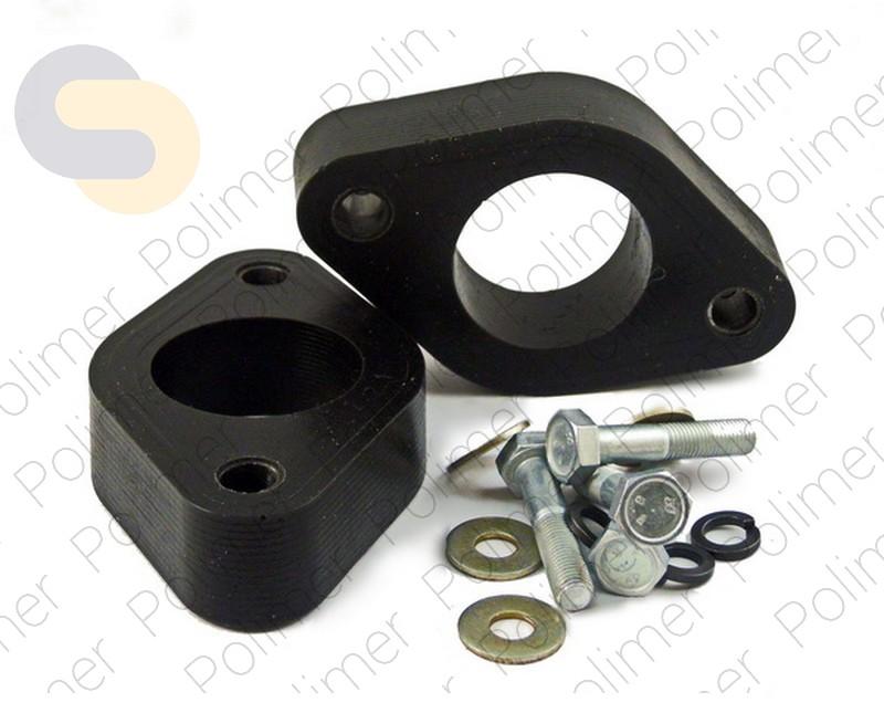 Проставки увеличения клиренса опор задних амортизаторов 30 мм KIA