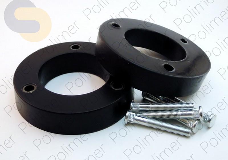 Проставки увеличения клиренса передних стоек HYUNDAI - полиуретан 30 мм