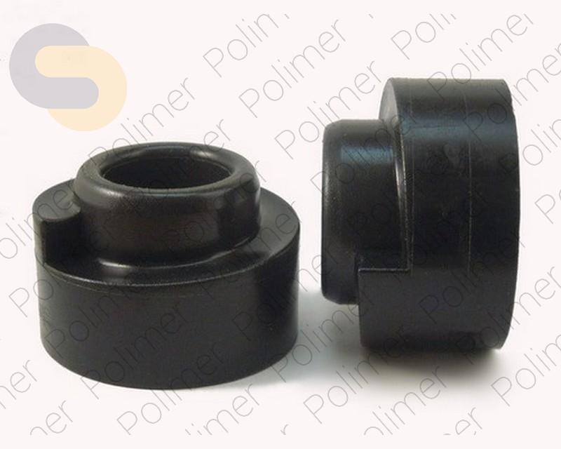 Проставки увеличения клиренса задних пружин HYUNDAI - полиуретан + 40 мм