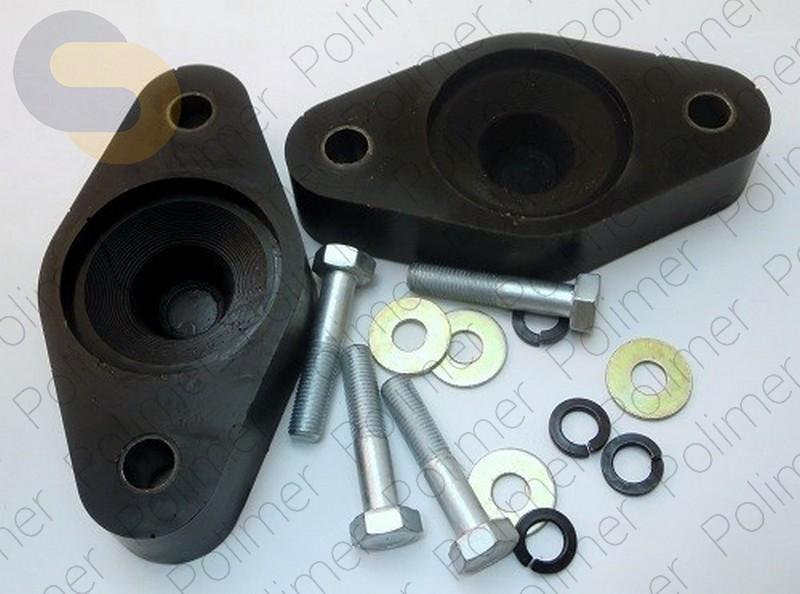 Проставки увеличения клиренса опор задних амортизаторов 30 мм HYUNDAI