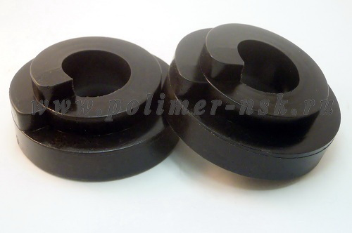 Проставки увеличения клиренса задних пружин LADA - полиуретан 20 мм