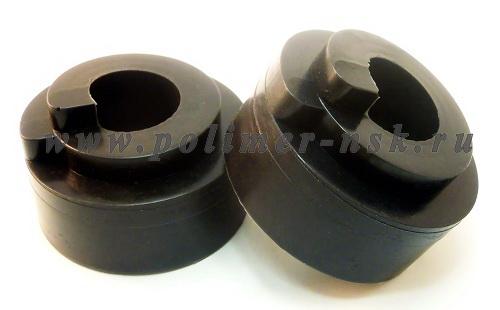 Проставки увеличения клиренса задних пружин LADA - полиуретан 40 мм
