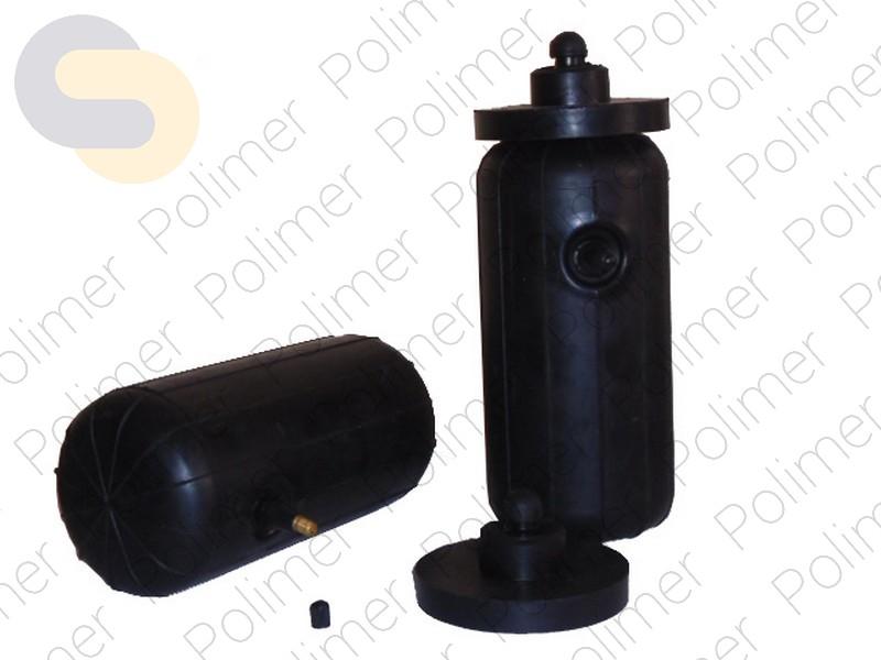 Пневмобаллоны в свободную пружину L HD (230*110*25) с боковым клапаном