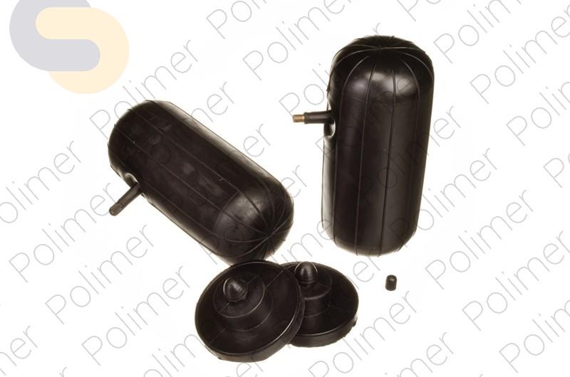 Пневмобаллоны в свободную пружину M HD (200*85) с боковым клапаном