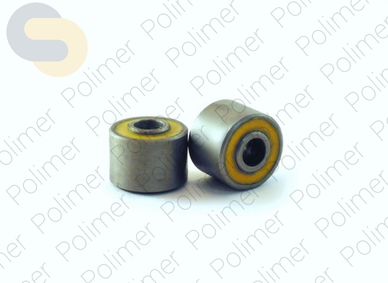 Cайлентблок мокика I. D. = 9.5mm; O. D. =28,2mm; h = 20mm